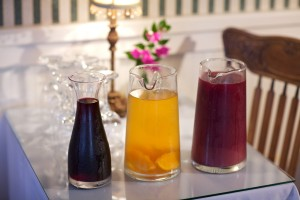 Sangria at the Bayfront Marin House Bed and Breakfast in St. Augustine
