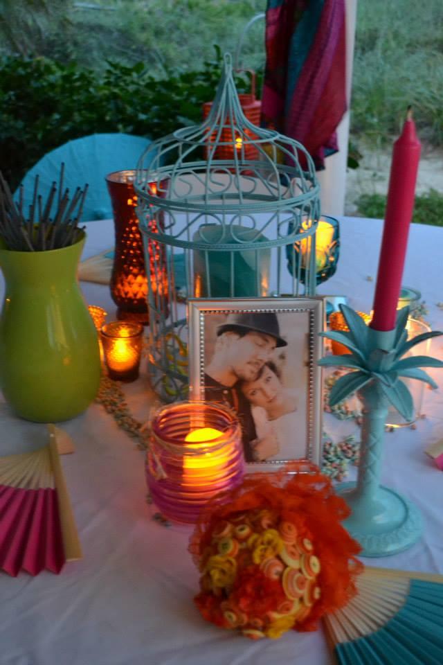 Colorful Beach Weddings In St Augustine Fl