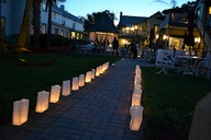 nights of lights luminarias in St. Augustine