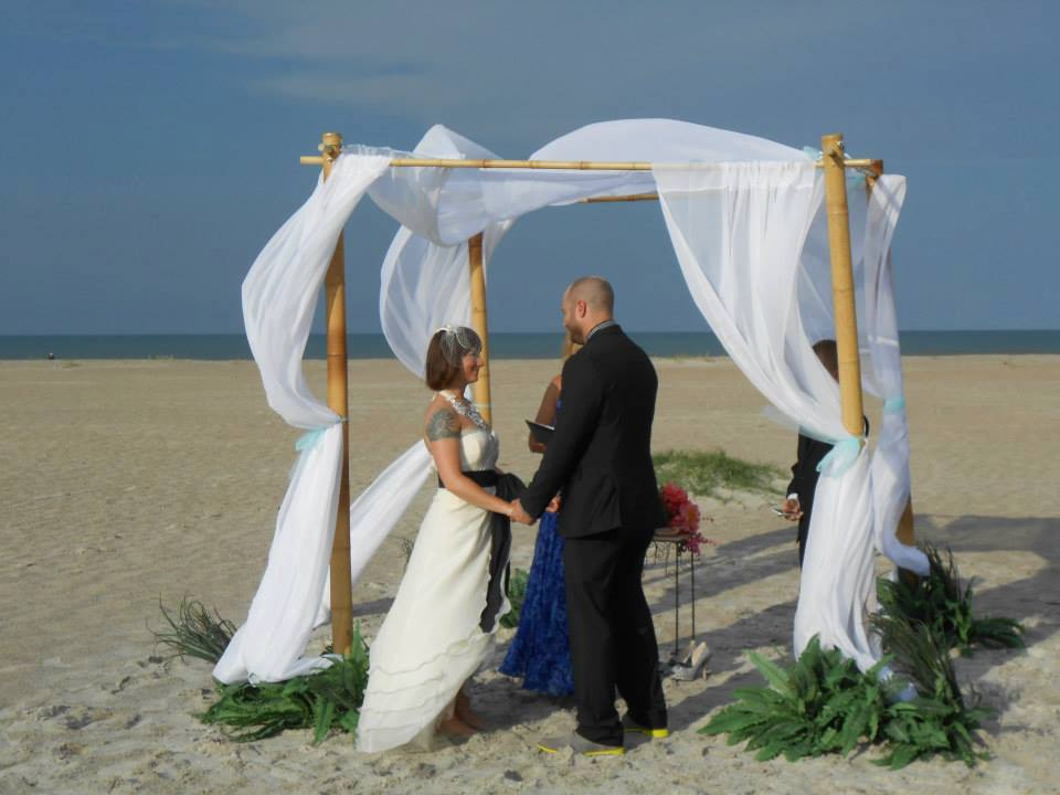 Beach Wedding In St Augustine Fl