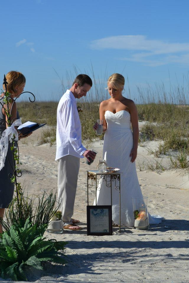 Beach Weddings In St Augustine Florida