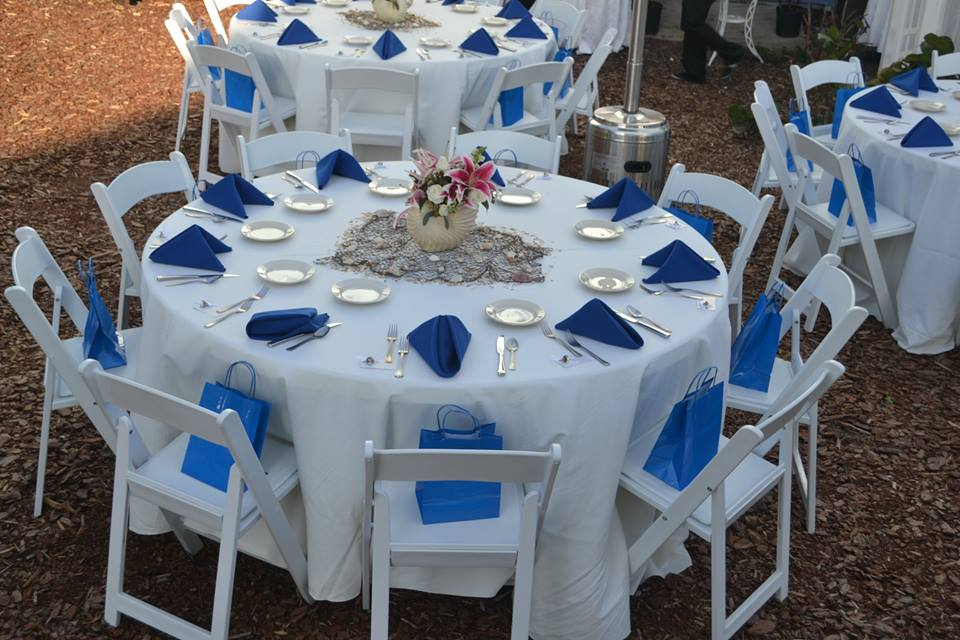 Beach Wedding Decor In St Augustine