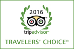 TripAdvisor - Travelers' Choice Award for 2016